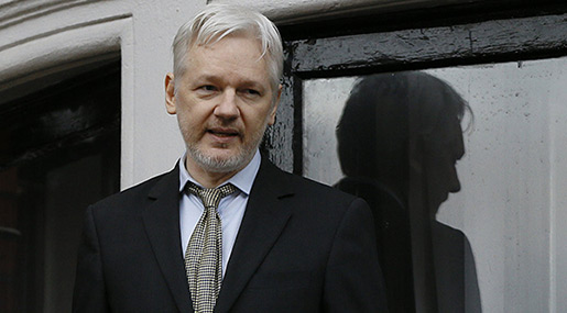 Assange Denies Russian Involvement in DNC Email Leaks