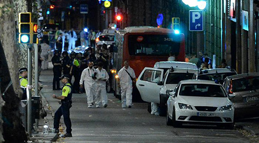 Barcelona Terror Attack: 13 Dead after Van Plows into Crowd, Daesh Claims