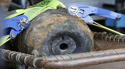 Germany: Huge Evacuation in Frankfurt to Defuse WWII Bomb