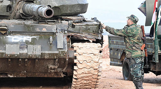 Syria: Army Liberates 1000s of Kilometers from Daesh