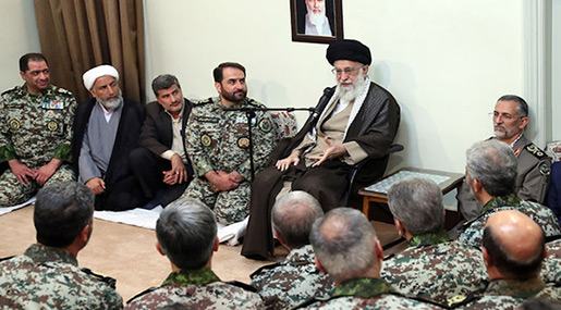 Imam Khamenei: Defying Threats on Front Lines Is Great Opportunity for Brave Forces