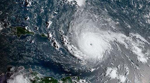 Hurricane Irma Makes Landfall in the Caribbean