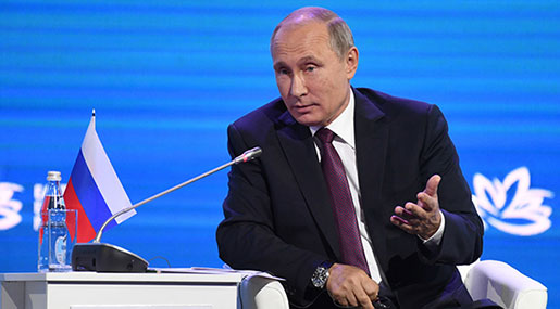 Putin: WMDs Will Not Be Used On Korean Peninsula