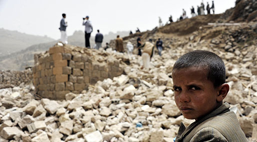 War, Disease & Famine: Yemen Crisis at Breaking Point