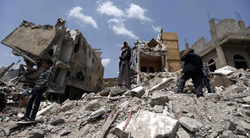 HRW: Saudi-Led Air Strikes in Yemen Are War Crimes
