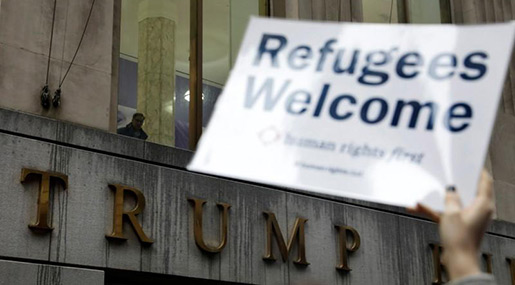 US Court Allows Trump Admin. Ban on Most Refugees