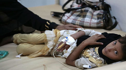 Cholera Cases in Yemen Could Hit 850,000 in 2017