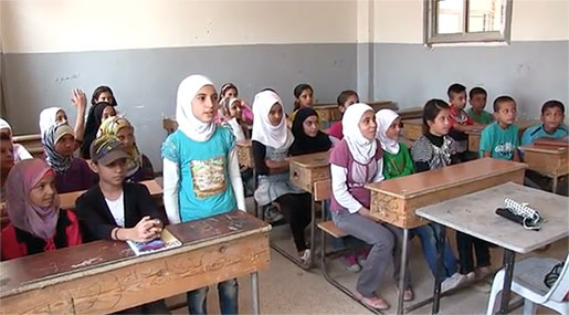 Deir Ezzor after Liberation: Children Back To School