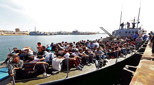 Libyan Coastguard Intercepts 3K+ Migrants in Past Week