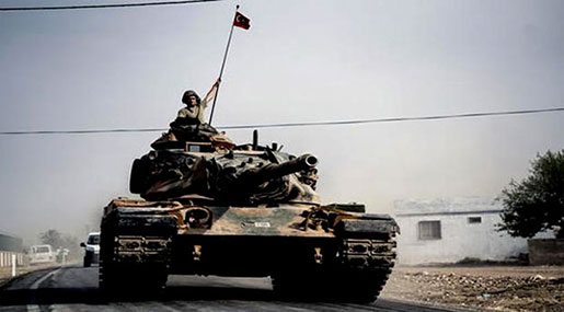 Turkey Sending Military Equipment to Syria Border