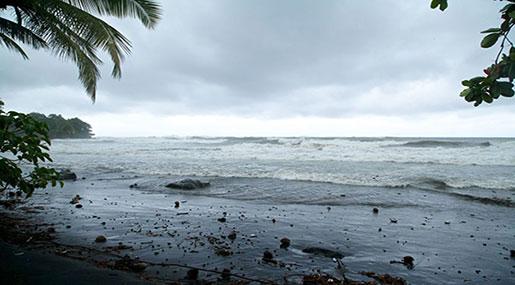 Hurricane Maria Pummels Small Caribbean Island of Dominica