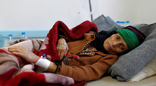WHO Plans Global War on Cholera As Yemen Caseload Nears 700K