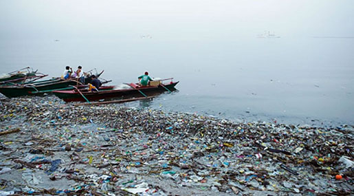 Big Western Brands Polluting Oceans with Cheap Plastic in Philippines