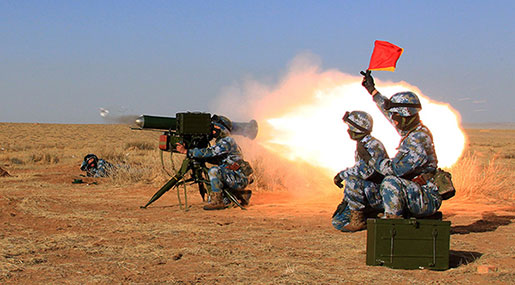 China Conducted Military Drills at 1st Overseas Base in Djibouti