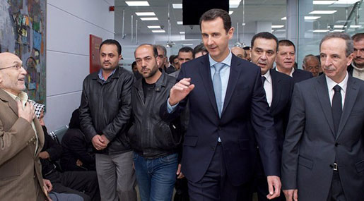 NYT: Al-Assad's Future Looks as Secure as Ever
