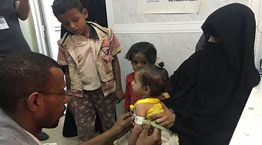 Yemen Conflict: 1.8m Children Suffer from Malnutrition