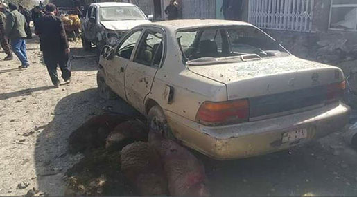 Afghan Mosque Bomb: Six Martyred, 16 Injured near Kabul