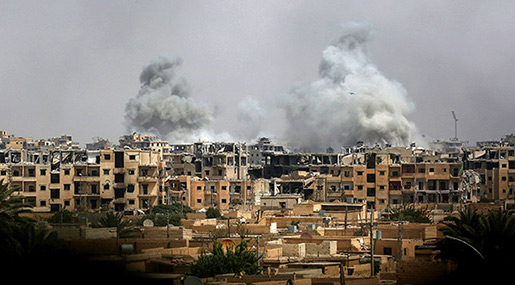 Damascus Urges UN to Stop US-Led Coalition «War Crimes», Expel Alliance from Syria