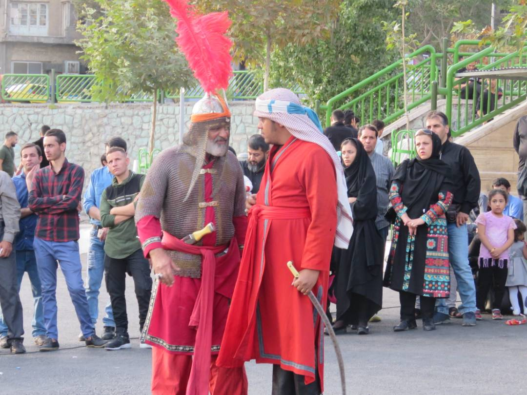 Iranians mark ninth day of Muharram: Photo report