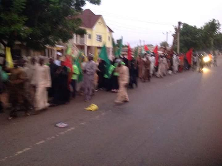 Nigerians Mark Ashura despite Crackdown
