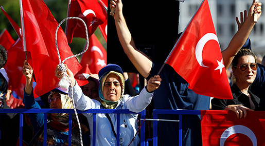 Report: Turkish Court Sentences 31 to Life in Prison for Plotting Coup Attempt