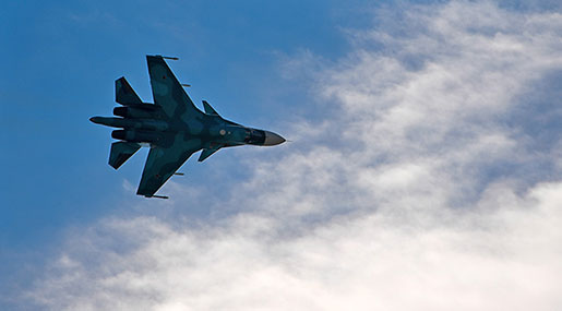 Russian MoD: Nusra Leader Gravely Injured by Airstrike, 12 Cmdrs. Killed