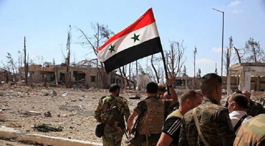 Syrian Army Nears Daesh Stronghold Mayadin