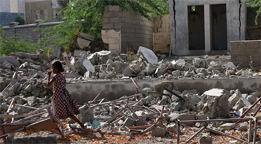 AI: UN Downplays Saudi-led Coalition's Crimes against Children in Yemen