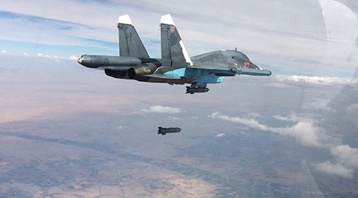 Russian Forces Destroy Daesh Command Post in Syria, Kill 80 Terrorists