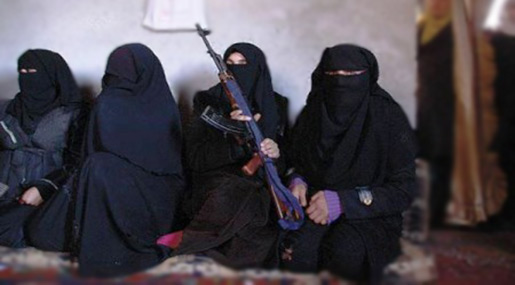 Daesh Short in Male Fighters, Urges Women to Fight & Launch Terror Attacks