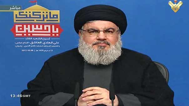 Sayyed Nasrallah: Daesh on Road to Elimination, To Cut any Hand that Extends to Harm Lebanon