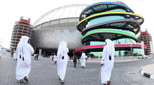 Gulf Rivals Trade Barbs over 2022 World Cup in Qatar