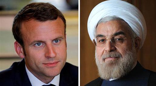 Rouhani Tells Macron JCPOA is not Re-negotiable