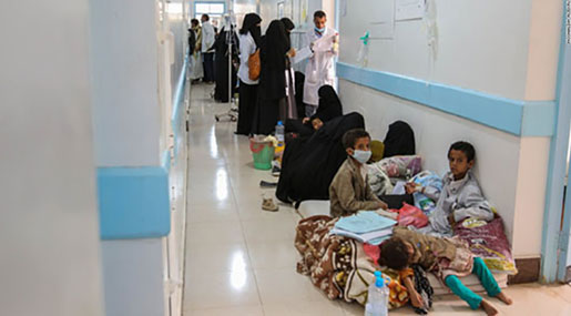 Yemen Cholera Outbreak Called Worst In Modern History: 815,000 Cases