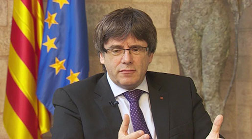 Catalan Leader Fails to Clarify Independence Declaration