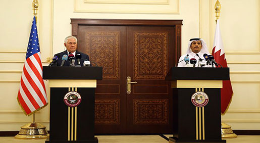 Tillerson from Qatar: Saudi Arabia Not Ready To Talk