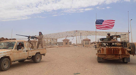 Syria Considers US Military Presence in Al-Tanf An Act of Aggression