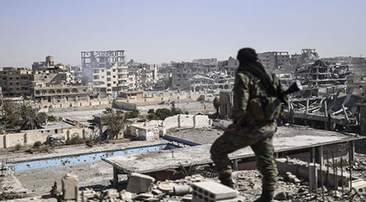 Russian MoD: Daesh Controls Only 5% of Syria
