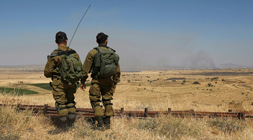 IOF Casts Doubts on Lieberman's Claim Hezbollah behind Shelling