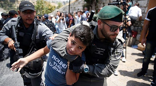 Palestinian Minors Arrested By «Israel» Suffer Abuse