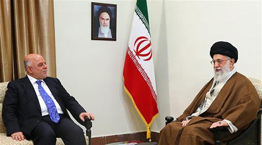 Imam Khamenei Receives Iraqi PM, Warns of US Schemes