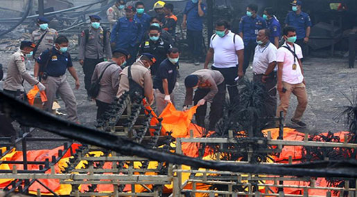 Indonesia: Dozens Killed, Injured In Blasts at Fireworks Plant