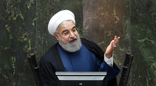 Rouhani: We Will Keep Building, Stocking Missiles to Defend Our Nation