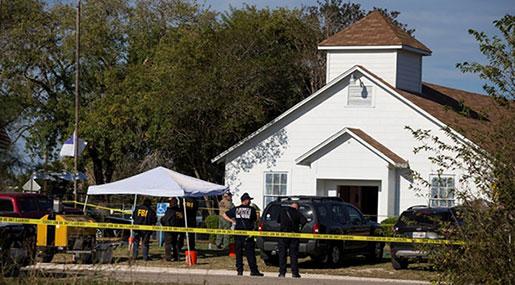 Texas Church Shooting: At Least 26 Dead, Gunman Killed