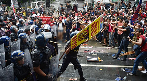 ASEAN Summit Kicks off in Manila amid Anti-US Protests