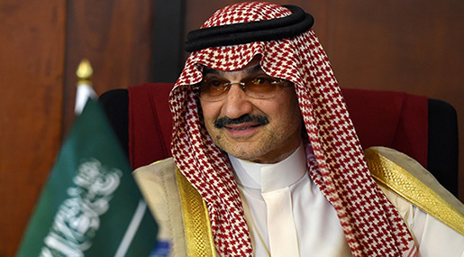 Saudi Prince Alwaleed bin Talal's Beirut Hotels Up for Sale