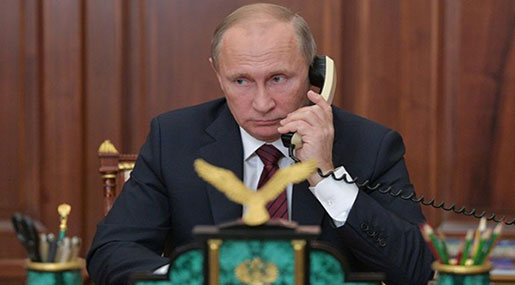 In First, Putin Speaks with Ukraine's Separatist Leaders