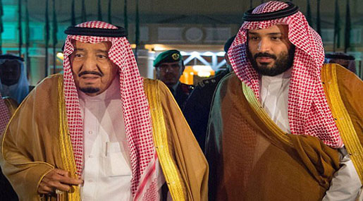 Daily Mail: Saudi King to Step down next Week