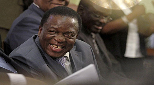 Emmerson Mnangagwa to Be Sworn in as Zimbabwe's President on Friday