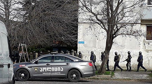 Gunfire Reported As Georgian Officials Conduct Tbilisi 'Counterterrorism Operation'